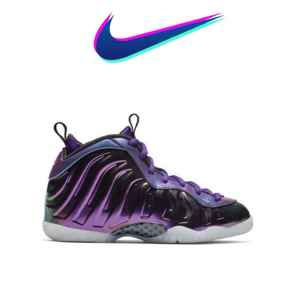 Nike Other - Nike Little Posite One Rush Pink/Neptune Blue 11 C